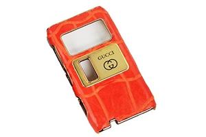 Защитная крышка для Nokia N8 Gucci (Оранжевая) (упаковка прозрачный бокс)