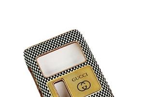 Защитная крышка для Nokia N8 Gucci (Циновка черн/бел) (упаковка прозрачный бокс)