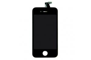Дисплей LCD iPhone 4S с тачскрином (черный) Foxconn (черный)