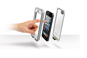 Чехол LifeProof для iPhone 4/4S (белый)