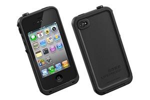 Чехол LifeProof для iPhone 4/4S (черный)