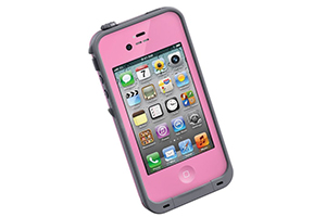 Чехол LifeProof для iPhone 4/4S (розовый)
