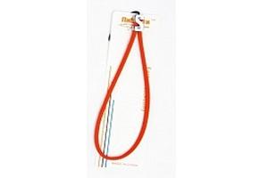 Шнурок на руку R5 круглый с подвижной пряжкой (красный)