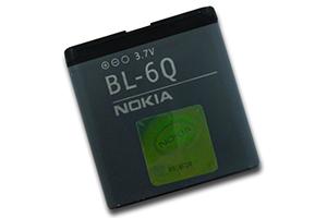 АКБ Nokia BL-6Q (6700C) Li960 Китай
