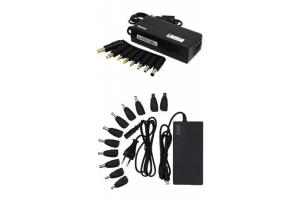 Блок питания сетевой ASX  90W (8 разъемов, 5V-2A USB + MicroUSB кабель)