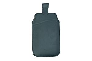 "Футляр с ""язычком"" для iPhone 3G/3GS/4/4S/Fly IQ449/IQ447 CP-585 черный (кожа, упаковка пакетик)"