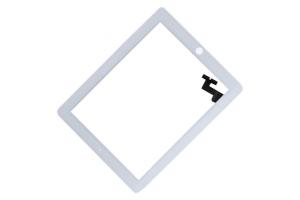 Тачскрин (сенсорное стекло) iPad 2 (белый) с кнопкой Home