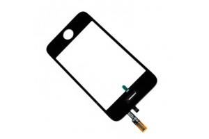 Тачскрин (сенсорное стекло) iPhone 3GS  1-я категория (Черный)