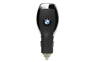 АЗУ универсальное BMW (Черный, 6 разъемов + USB) (коробка)