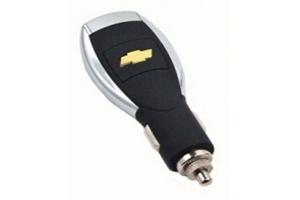 АЗУ универсальное Chevrolet (Черный, 6 разъемов + USB) (коробка)
