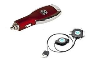 АЗУ универсальное Honda (Красный, 6 разъемов + USB) (коробка)