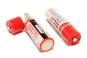 """USB Аккумуляторные батарейки AA """"LP"""" 1450 мАч (комплект 2 шт.) (блистер)"""