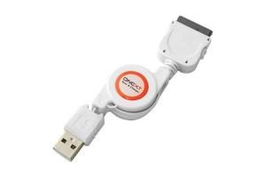 USB Дата-кабель для iPhone провод рулетка (БЕЗ УПАКОВКИ)