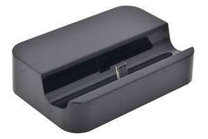 Стакан зарядки Micro USB Dock для Samsung и совместимые (черный/коробка)