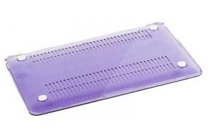 """Пластиковая защита для Macbook Air 11,6"""" матовая сиреневая (коробка)"""