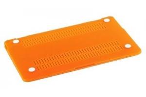 """Пластиковая защита для Macbook Air 13,3"""" матовая оранжевая (коробка)"""