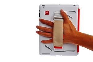 """Защитная крышка для iPad 2/3/4 """"Belt Case"""" (красный)"""