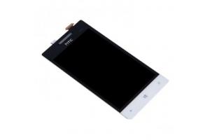Дисплей HTC 8S Windows Phone белый, с тачскрином