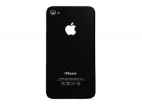 Задняя крышка для iPhone 4S (черная) АА