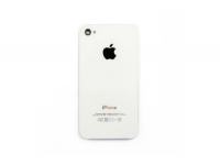 Задняя крышка для iPhone 4S с кристаллом копия (упаковка пакет)