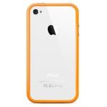 Bumpers для iPhone 4/4S (оранжевый)