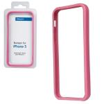 Bumper CLEAVE для iPhone 5 металл/раздвижной (розовый)