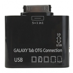 Connection Kit для Samsung Tab P7300/P7500 (картридер SD/USB) OT-3102 (коробка)