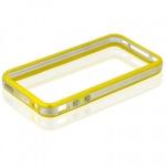 Bumpers для iPhone 4/4S (желтый)