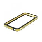 Bumpers для iPhone 4/4S (желтый/черный)