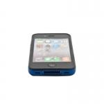 Bumpers для iPhone 4/4S (синий/черный)