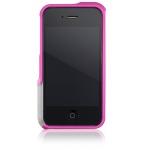 Bumper Element Vapor Pro Ops для iPhone 4/4S металл розовый (чехол+наклейка)