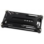 Bumper-case DURABLE для iPhone 4/4S металл (черный)