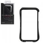 Bumper CLEAVE для iPhone 5 металл/раздвижной (черный)