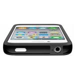 Bumpers для iPhone 4/4S (черный)